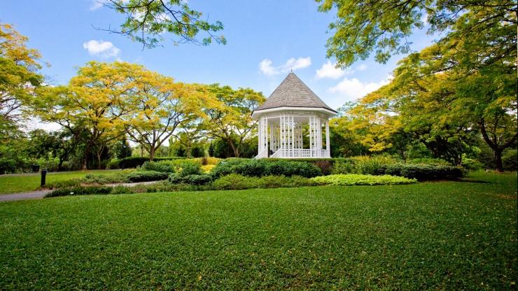 Ghetto Singapore botanic garden